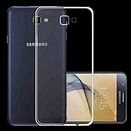 best authentic 96530 a708a FON G570 Soft Silicone Back Cover for Samsung Galaxy J5 Prime(Transparent)