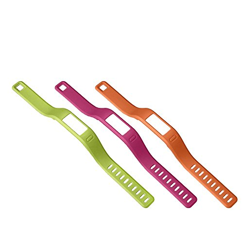 Garmin vívofit Fitness Wrist Band (Pink/Green/Orange)