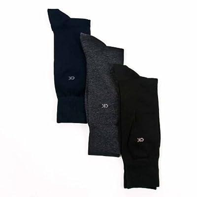 Calvin Klein Men Cotton Dress Flat Knit 3-Pack
