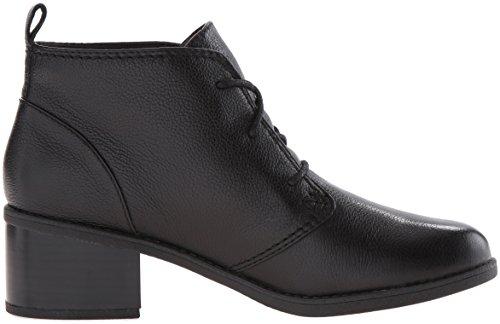 Clarks Womens Nevella Harper Boot In Pelle Nera