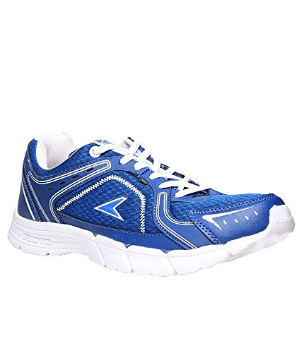 Power Men's Blue Canvas Sports Shoes
