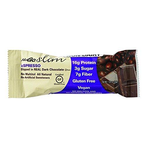 [Nugo Nutrition Bar - Slim - Espresso - 1.59 Oz Bars - Case Of 12] (Nugo Nutrition Bar)