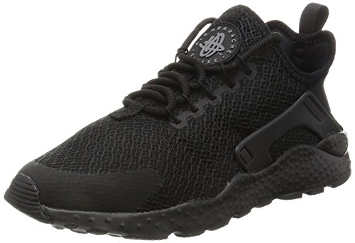 Nike Damen W Air Huarache Run Ultra Laufschuhe Schwarz (Black/black/dark Grey)