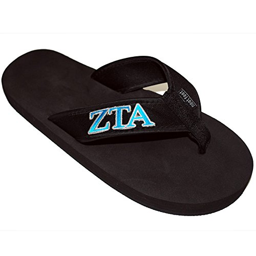 Express Designgruppen Zeta Tau Alpha Zta Flip Flops Svart