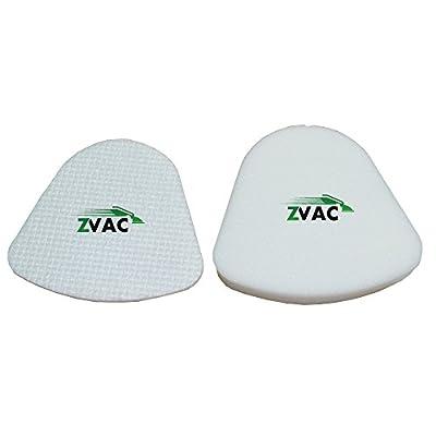 Shark Navigator Lift-Away NV350, NV351, NV352, NV355, NV356, NV356E, NV357 Washable Foam and Felt Pre-Filter Replacement Kit 2PK By ZVac