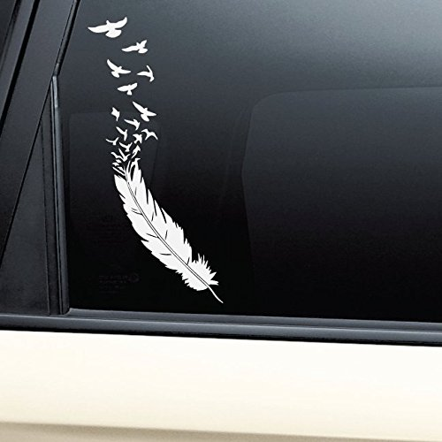Birds of a feather vinyl decal laptop car truck bumper window sticker