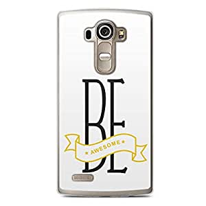 Awesome LG G4 Transparent Edge Case