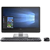 Dell Inspiron 24 3000 Series 3464 23.8 Full HD Touchscreen All-in-One Desktop - 7th Gen Intel Core i7-7500U Processor up to 3.50 GHz, 8GB RAM, 1TB SSD, Intel HD Graphics 620, Windows 10 Pro