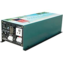 32000W peak 8000W LF Split Phase Pure Sine Wave Power Inverter DC 24V to AC 110V&220V 60Hz, with 120A BC / UPS / LCD display