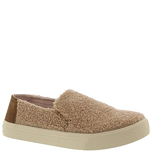 TOMS Women's Sunset Light Brown Faux Shearling/Suede 9 B ()
