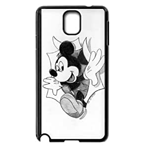 Disney Mickey Mouse Minnie Mouse Samsung Galaxy Note 3 Cell Phone Case Black DAVID-420193