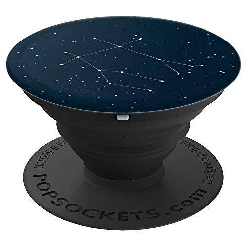 - Gemini Star Sign Constellation Zodiac Design - PopSockets Grip and Stand for Phones and Tablets