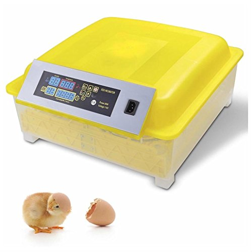 48Egg Incubator Digital Automatic Turner Hatcher Chicken Egg Temperature Control by Unbranded*