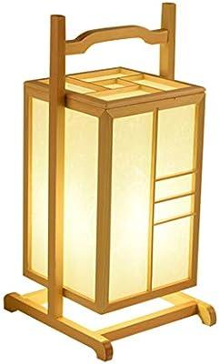 MWY Lámpara De Mesa Dormitorio Junto A La Cama Tatami Lámpara ...