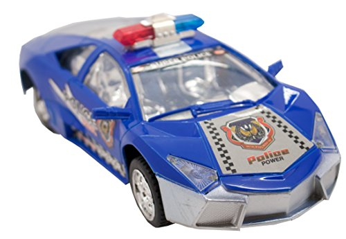 TECHEGE  Toys Police Lambo - Street Race - Stealth Police Lambo - Realistic Lights and ()