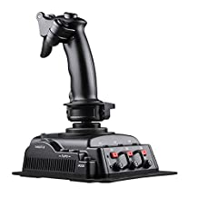 Cobra V6 Flight Simulation Joystick with Hall Sensor Technology, PC/Mac/Linux