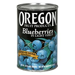 Oregon Fruit Products Blueberries (8x15OZ )