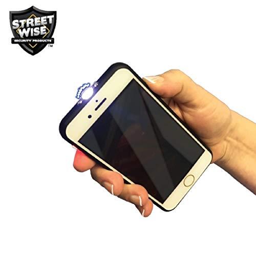 Cutting Edge Streetwise FRiPHONE 14 mil Stun Gun, Black (Stun Gun Cell Phone)
