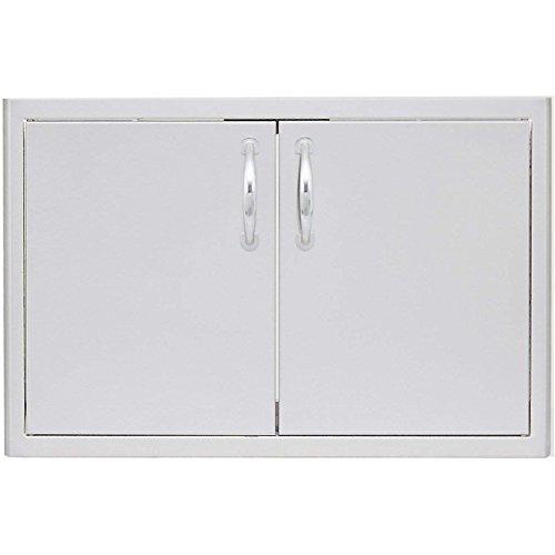 Double Access Door with Paper Towel Dispenser Size: 32