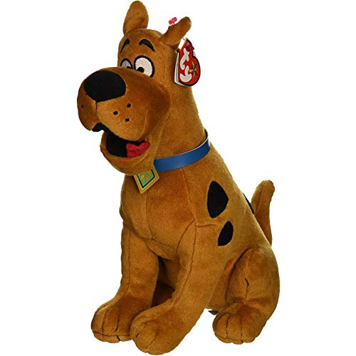Stuffed Dog Plush dog Scooby-Doo The Dog Plush Regular Stuffed Animal Collection Soft Doll Toy With Heart Tag -