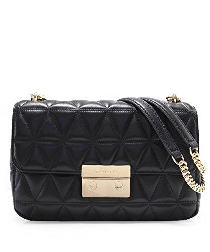 fbc5bb2639d4 MICHAEL Michael Kors Sloan Large Quilted-Leather Shoulder Bag in ...
