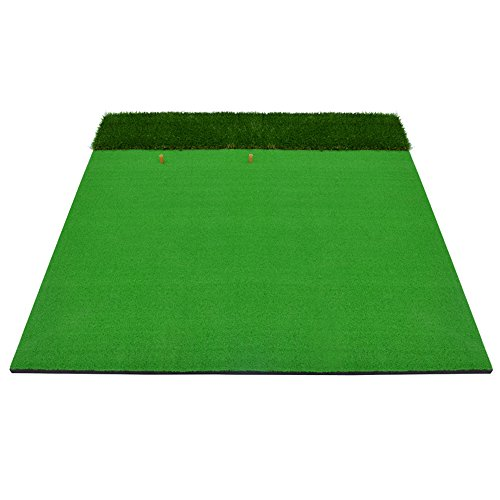 Golf Hit Pad  Swing Practice Mats  Indoor And Outdoor  Multifunction Long And Short Grass Cutting Rods