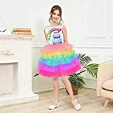 Sunny Fashion Girls Dress Birthday Princess