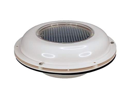 Pactrade Marine Boat Solar Powered Ventilator ODM, White