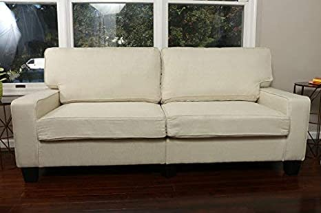 Home Life 2-3 Person Apartment Size Contemporary Pocket Coil Hardwood Sofa  281 73\