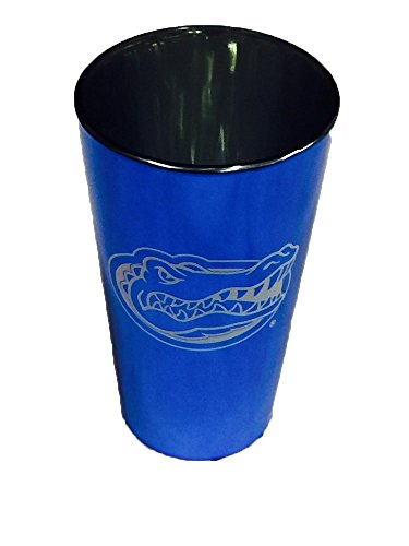 (Florida Gators 16oz Blue Lusterware Pint (Set of 2))