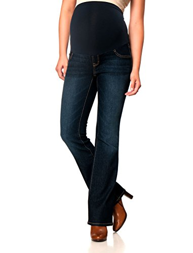 Motherhood Indigo Blue Secret Fit Belly Boot Cut Maternity Jeans ...