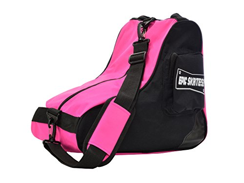 Epic Skates Premium Skate Bag, Black/Pink