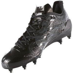 adidas Adizero 5Star 6.0 Cleat Men's Football 15 Core Black-Black