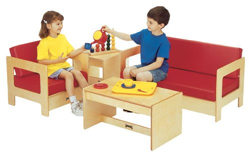 Jonti-Craft Living Room 4 Piece Set - Red