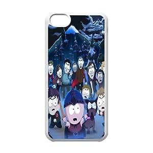 iPhone 5c Cell Phone Case White South Park JQR 3D Hard Phone Case