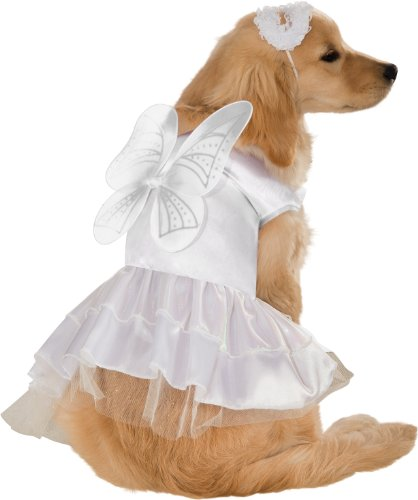 Dog Costumes Angel (Rubie's Pet Costume, Medium, Angel)