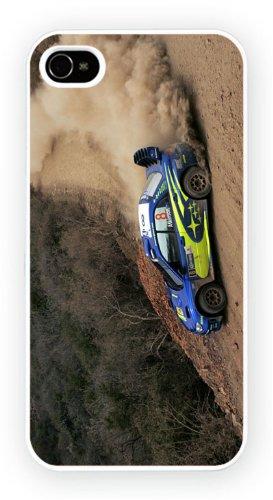 Subaru Impreza WRC 2007 Gravel, iPhone 4 4S, Etui de téléphone mobile - encre brillant impression