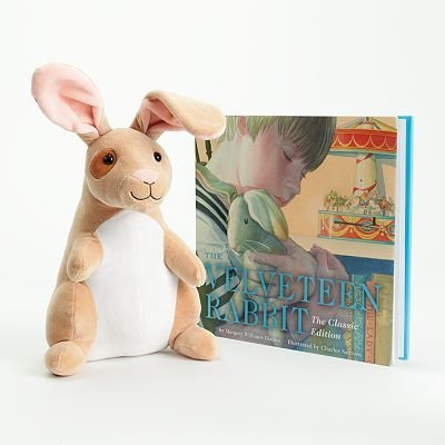 Amazon Com Velveteen Rabbit Plush Toy And Hardcover Book Gift Set