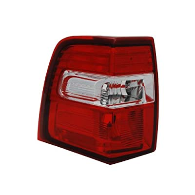 TYC 11-6328-01-9 Compatible with Ford Expedition Left Replacement Tail Lamp: Automotive