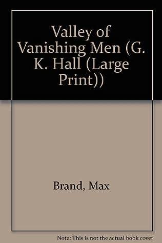 book cover of Valley Of Vanishing Men