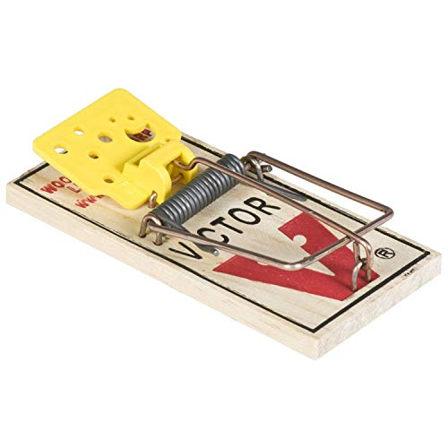Victor Easy Set Mouse Trap (Pack of 12) - Includes the SJ Pest eBook