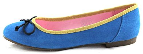 Jane Klain Damen Ballerinas Flats 221 716 blau