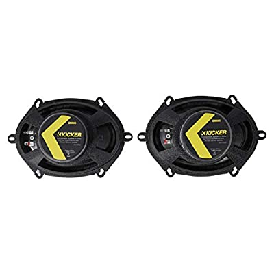 Kicker 46CSS684 Car Audio 6x8 Component Full Range Stereo Speakers Set CSS68: Automotive