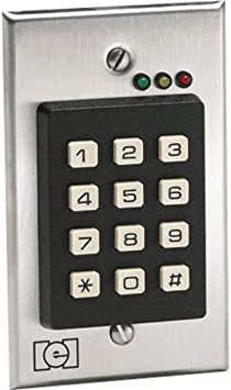iei keypads wiring diagram amazon com iei 212i indoor flush mount keypad access control  iei 212i indoor flush mount keypad