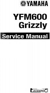 amazon com yamaha grizzly 600 660 service repair maintenance shop rh amazon com Metro FM YFM Cartoon