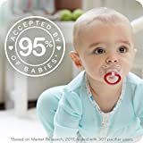 NUK Orthodontic Pacifier Value Pack, Boy, 0-6