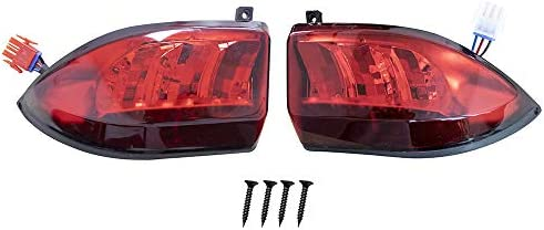 Club Car Precedent LED Taillight Tail Light 2004-up Rear Light 12V 3 Wires,(2) Tail Light kit Replacements