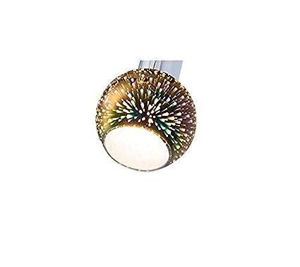Lampenglas f/ür Pendellampe Ersatzglas Ersatzschirm Glas Tischlampe mit Firework Effekt 3er Set Leuchte Schirm Fluter 3er Set Lampenschirm