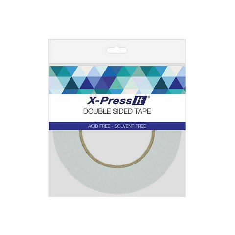 X-Press It Double Sided Tissue Tape, 1/2 Inch x 55 Yards DST12 (Tissue Tape)