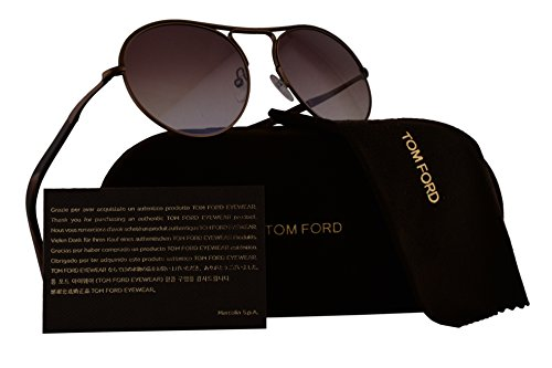 Tom Ford FT0449 Jessie Sunglasses Bronze w/Red Gradient Lens 49T - Kids For Tom Ford